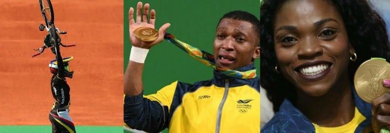 Medallas de Colombia en Río