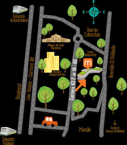 Cómo llegar parque Telemedellín