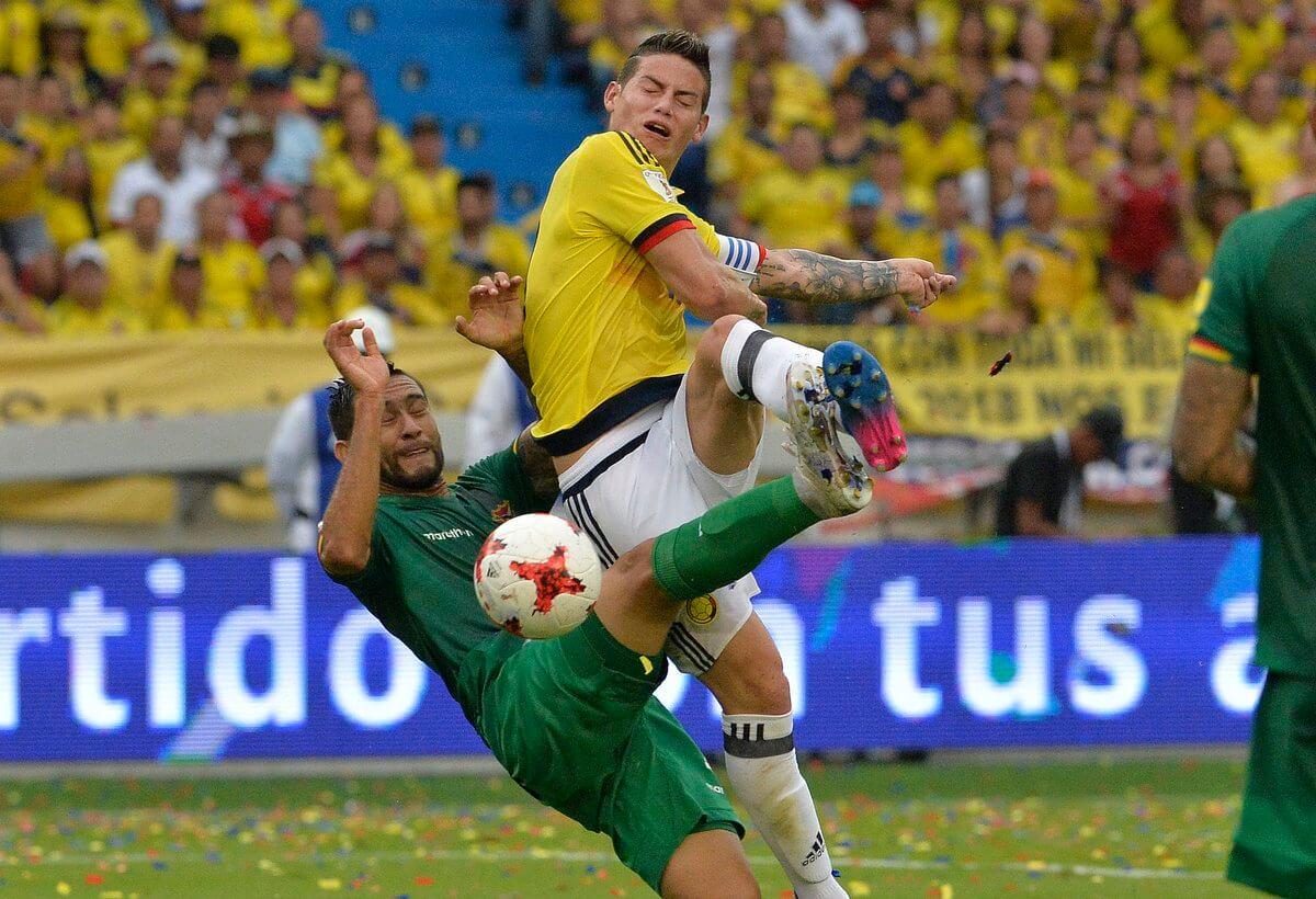 Colombia venció a Bolivia y complica a la Argentina