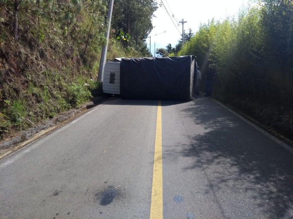 Accidente de tránsito en La Ceja dejó siete personas heridas