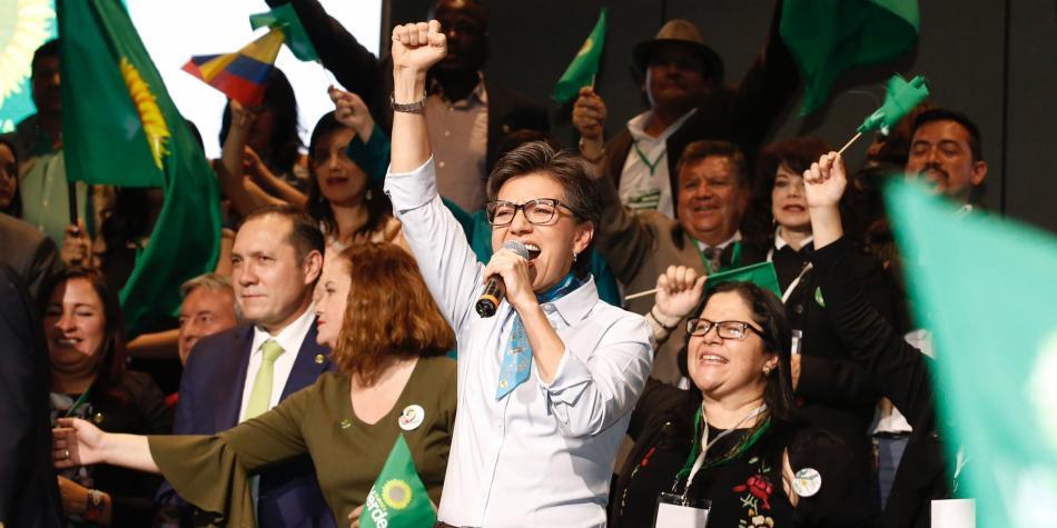 Alianza Verde: Claudia López es proclamada candidata presidencial para elecciones 2018