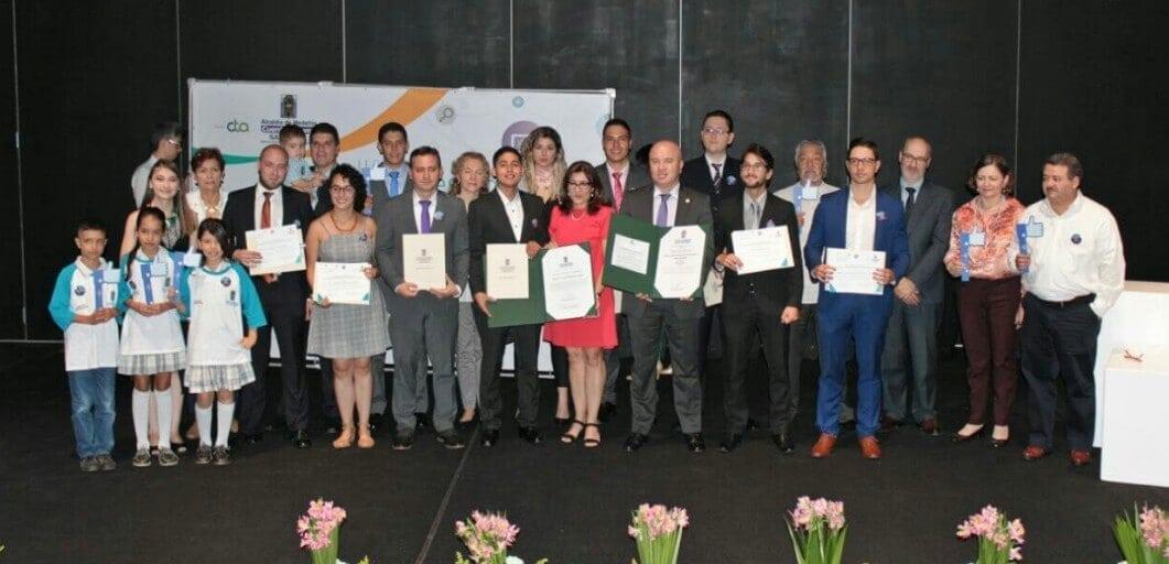 Fueron reconocidos los mejores investigadores y universitarios de Medelllín