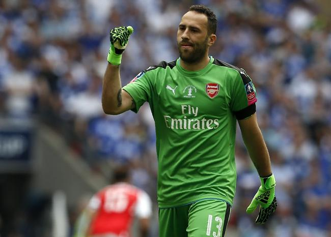 David Ospina el arquero del once ideal de la Europa League