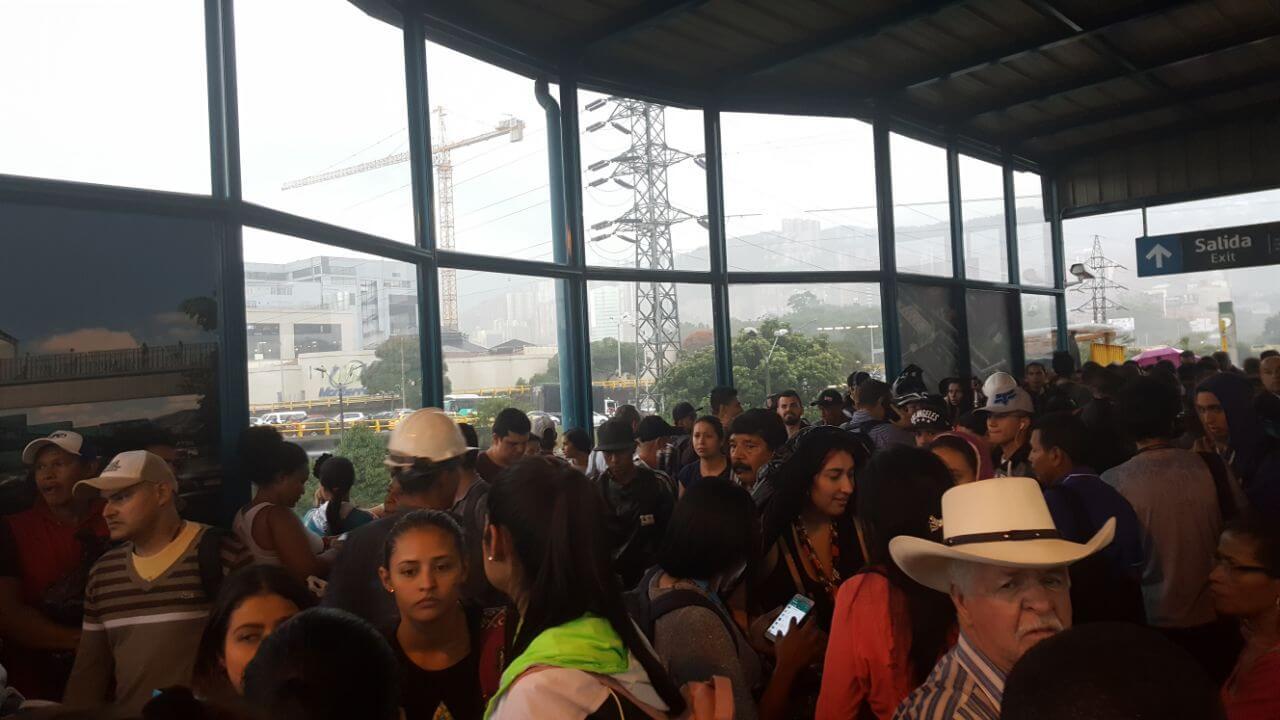 Así está funcionando el Metro de Medellín