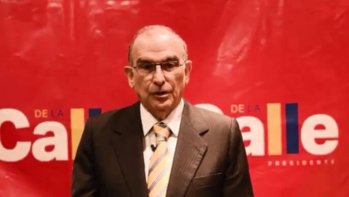 Humberto de la Calle descarta alianza con Sergio Fajardo para la primera vuelta